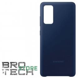 COVER ORIGINALE SAMSUNG S20 FE 5G SILICONE  BLUE NAVY
