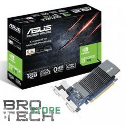 SCHEDA VIDEO ASUS GEFORCE GT710 1GB GDDR5 VGA+HDMI+DVI PCI-E LOW-PROF