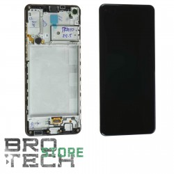 DISPLAY SAMSUNG A217 A21S BLACK SERVICE PACK