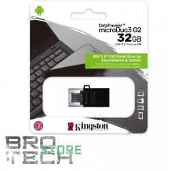PEN DRIVE USB KINGSTON 3.0 32GB GEN 2 MICRO USBANDROID/OTG
