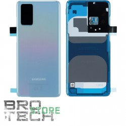 BACK COVER GLASS SAMSUNG S20+ G985F BLUE