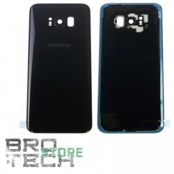 BACK COVER GLASS SAMSUNG S8+ G955 BLACK