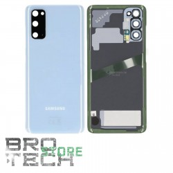 BACK COVER GLASS SAMSUNG S20 G980 BLUE