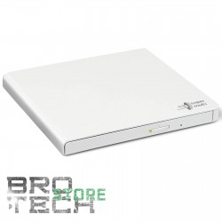 MASTERIZZATORE ESTERNO USB HITACHI LG GP57EW40 BIANCO WHITE