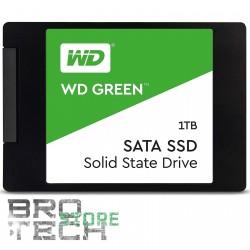 "HARD DISK 2.5"" SSD WESTERN DIGITAL WDS100T2G0A WD GREEN 1000GB 1TB STATO SOLIDO"